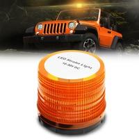 72 LED Flash Warning Indicator Light Rotating Roof Beacon Strobe Light Amber Flashing Beacon Light 12V Universal For Car Truck
