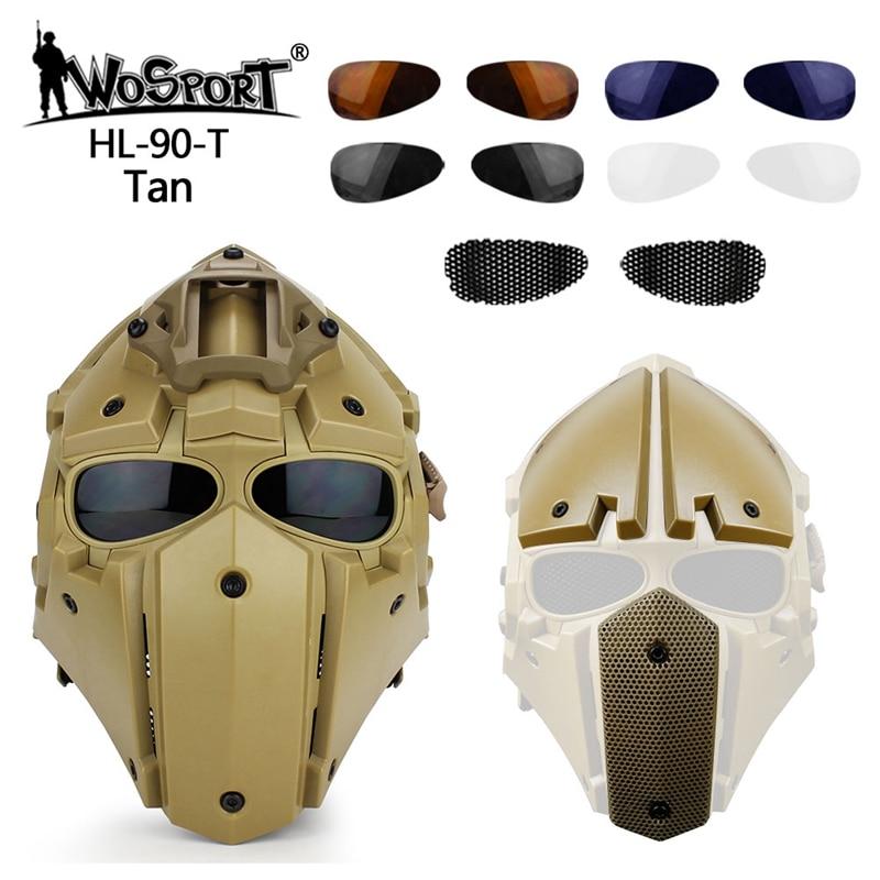 Casque de protection militaire Airsoft de haute qualité casque tactique de tir de Paintball de Sports de plein air