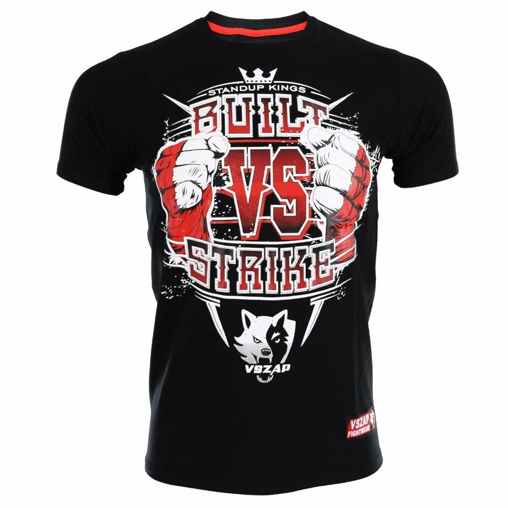VSZAP Series Retro MMA Jersey for Twins Kick Kickboxing Boxing camisetas muay thai Top tee Jerseys rugby BJJ jersey