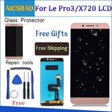 AICSRAD LCD شاشة ل LeTV LeEco لو Pro3 برو 3 X720 X725 X727 شاشة الكريستال السائل + شاشة تعمل باللمس 100% جديد محول الأرقام الجمعية + أدوات