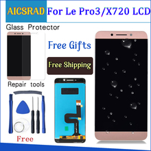 AICSRAD LCD Screen For LeTV LeEco Le Pro3 Pro 3 X720 X725 X727 LCD Display + Touch Screen 100% New Digitizer Assembly +tools