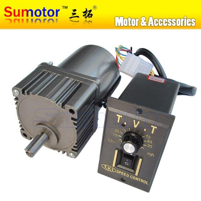25 W Ac 220 240 V 50 60 Hz Baja Rpm Reductor Motor Con