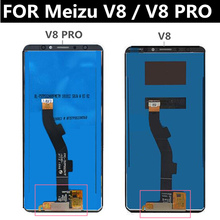 цена на 5.7 FOR Meizu V8 lcd M1813 LCD Display+touch Screen+Tools Digitizer Assembly Replacement Accessories for Meizu V8 pro LCD