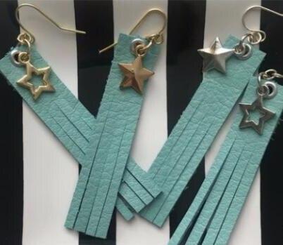 Tassel earrings cutting dies 2019 new die cut wooden dies Suitable for common die cutting machines on the market in Cutting Dies from Home Garden