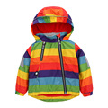 2017 boy's warm spring jacket for kids colorful kids girl's coat children's fashion autumn hoodies zipper outwear baby clothing