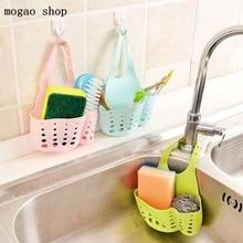 hot Portable storage basket Home Kitchen Hanging Drain Basket Bag Bath Storage Tools Sink Holder Kitchen Accessory gadgets