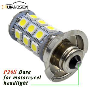 Image 4 - 2 chiếc P26S LED Moto rcycle Đèn Pha Blub DC 6 V 12 V 8 W 720LM 6000 K Moto ánh sáng 5050 27SMD Xe Tay Ga Accessoire Moto rbike đầu đèn