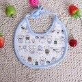 2016 Bonito Dos Desenhos Animados Floral Recém-nascidos Infantil 0-1 anos de Bebê Babadores Para Bebês À Prova D' Água Macia Bib Saliva Toalhas Desgaste Recém-nascidos Panos do burp
