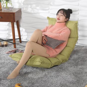 Kreatywny dmuchana sofa jedna osoba sofa łóżko kanapa kanapa ryżu krzesła składane krzesła balkonowe tanie i dobre opinie Meble do salonu Szezlong Meble do domu Nowoczesne Tkaniny 62*50*65cm china