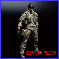 MODEL FANS Play Arts Medal of Honor Figure Medal Honor Tom preacher Figure PA 27cm PVC Action Figure
