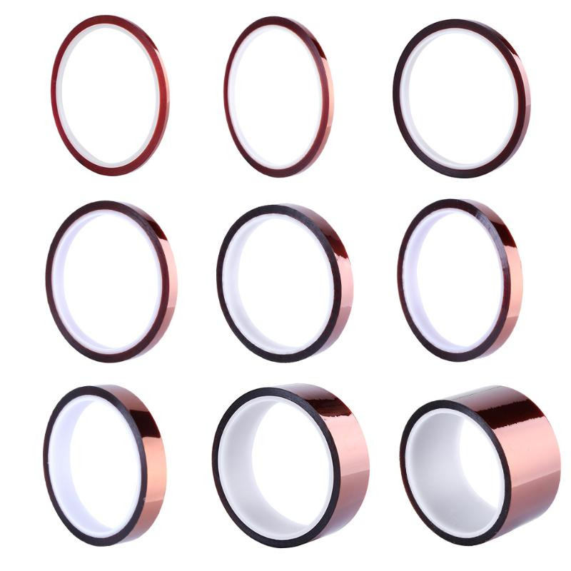 30m Length 3/4/6/8/10/12/15/30mm Width Gold BGA Tape Thermal Heat Insulation Tape High Temperature Resistant Tape30m Length 3/4/6/8/10/12/15/30mm Width Gold BGA Tape Thermal Heat Insulation Tape High Temperature Resistant Tape