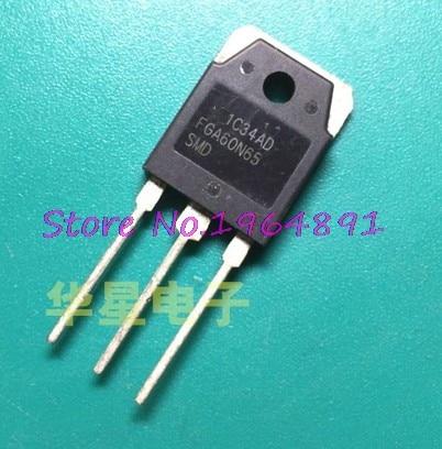 10pcs/lot FGA60N65SMD TO-3P FGA60N65 60N65 In Stock