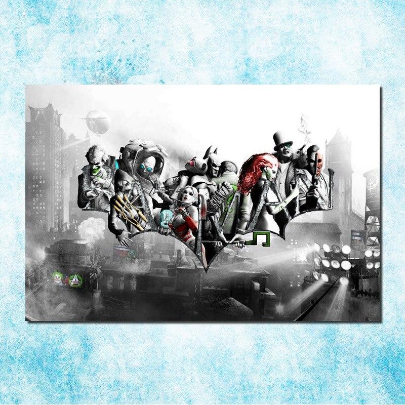 Banksy Graffiti BATMAN HERO Art Silk Poster 13x20inches