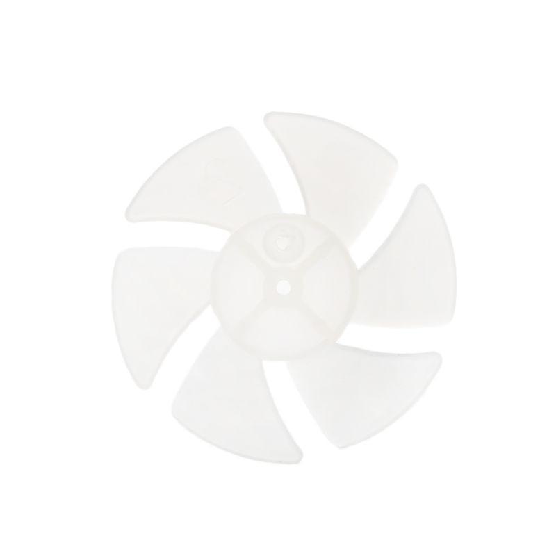 Small Power Mini Plastic Fan Blade 6 Leaves For Hairdryer Motor
