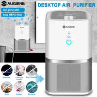 Augienb Air Purifier With HEPA Active Carbon Filter Air Remove Dust Sterilizer Odor Smoker PM2.5 Air Cleaner For Office Home