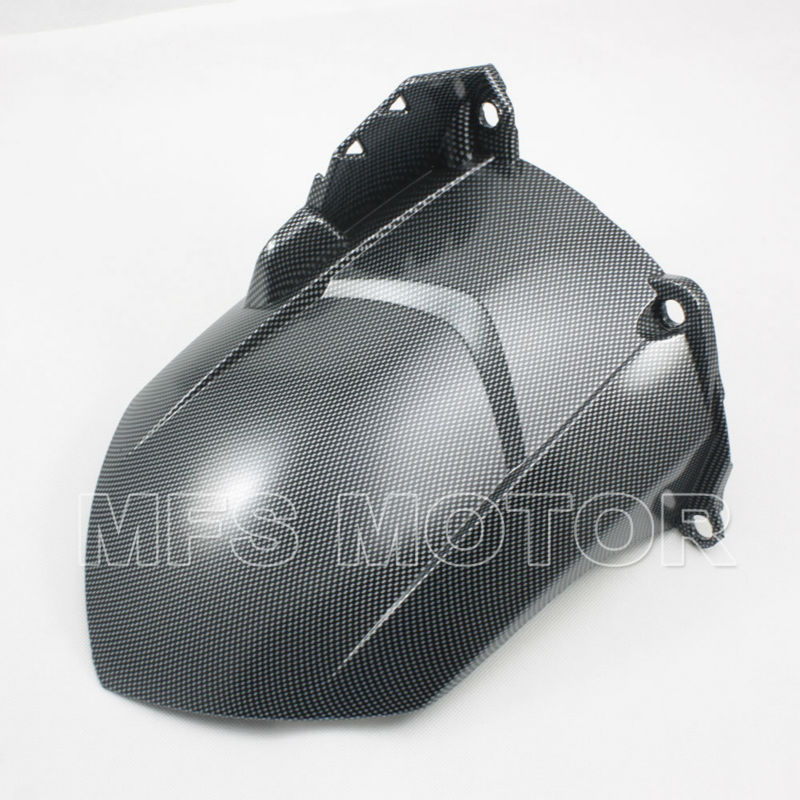 Motorcycle Part Rear Fender Carbon guard FAIRING ABS For Yamaha YZF R1 2007 2008 07 08 YZFR1 07 08 all matte black yzf r1 2007 fairing set for yamaha 2008 yzfr1 07 08 abs plastic body kits free shipping