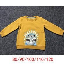 Apperloth Baby Boys Girls Hoodies Clothes Child Kid Winter Thick Sweatshirts Cashmere Long Sleeve Kids Cartoon Print Top Costume недорого