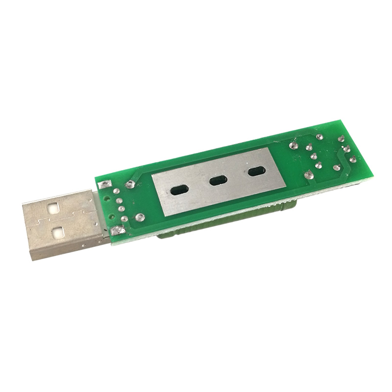 MCIGICM 50 pcs USB mini discharge load resistor 2A/1A With switch 1A Green led,2A Red led