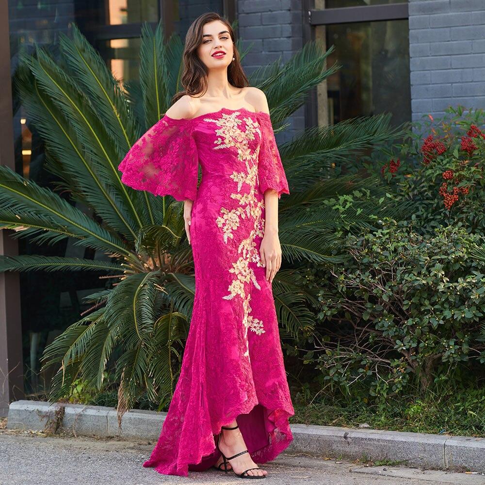 Atractivo Vestidos De Dama De Honor Trompeta Imagen - Colección de ...