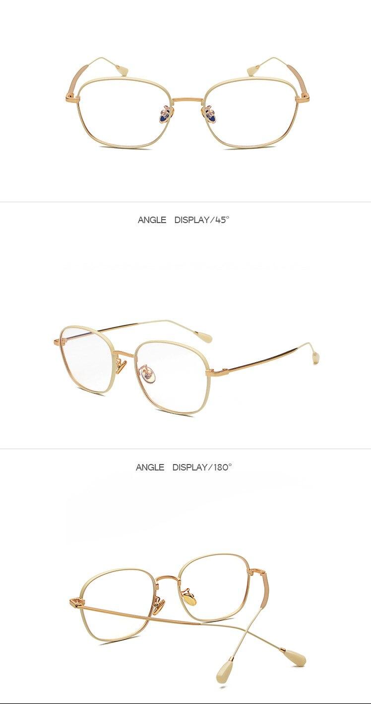 Lesebrille Ultraleichte Retro Anti Müdigkeit Presbyopie Brille Transparente Harz Objektiv Unzerbrechlich Gläser KM18-34