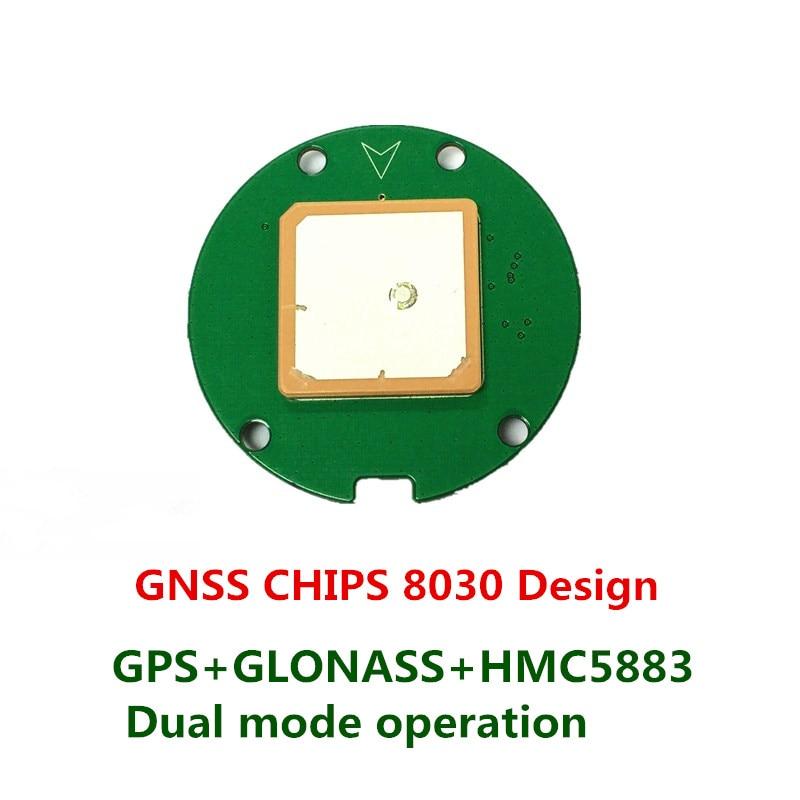 цена на Hot gnss smart antenna moduel Gps glonass dual mode operation For UAV Flight Control APM 2.8 electronic compass HMC5883