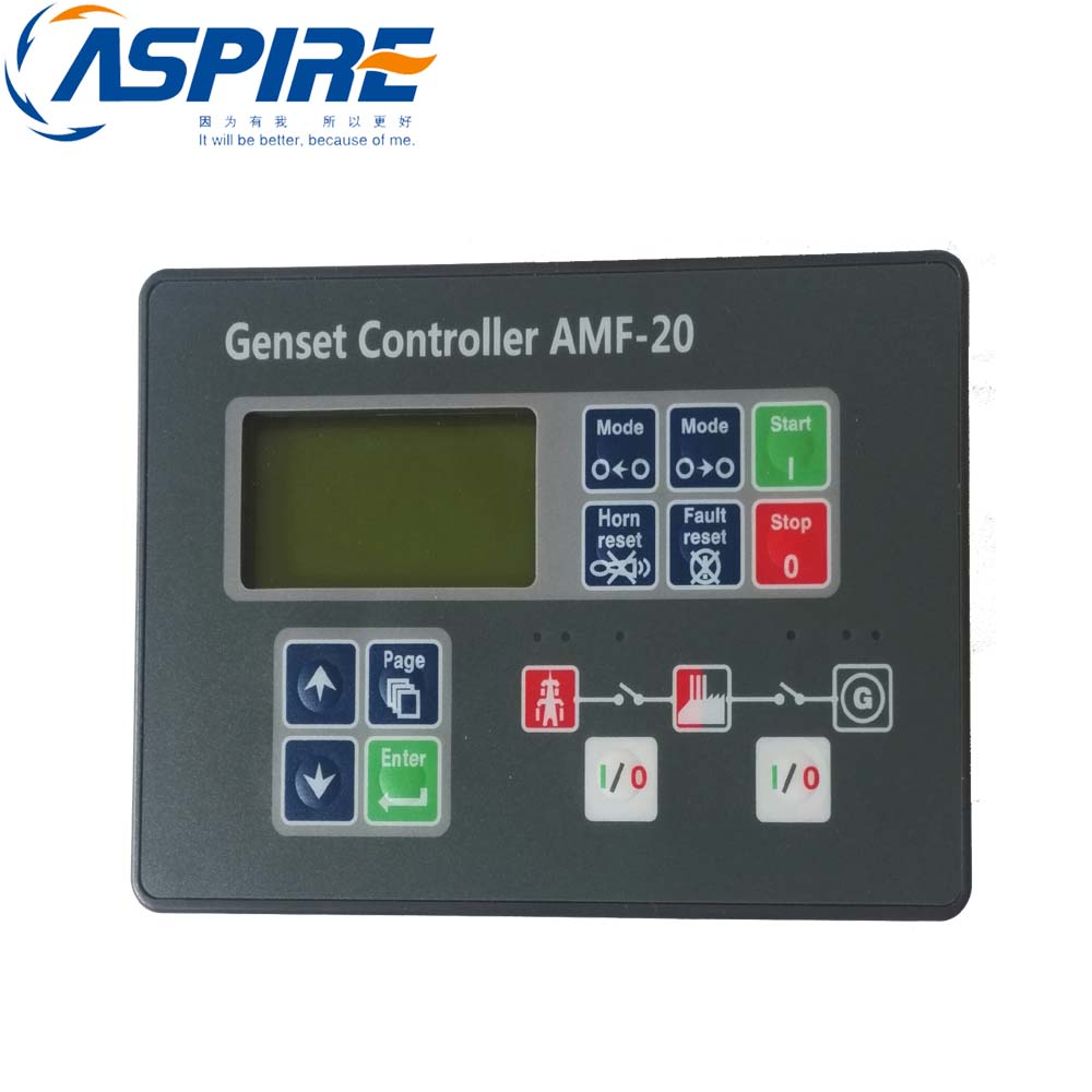 ATS Genset Controller Module AMF20, Diesel Generator Control Panel AMF20 цена 2017
