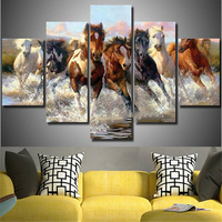 3D Diamond Painting Running horse Cross Stitch Crystal Needlework Diamond Embroidery Animals Full Diamond Decorative gift DK066