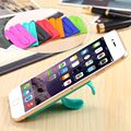 Touch U Type Silicone Stand Holder For HTC M7 M8 M9 For Sony Z2 Z3 Z4 For LG G2 G3 G4 For iPhone For Samsung Phone Accessories
