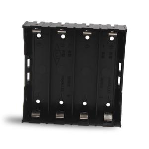 Image 2 - 100 ピース/ロット 18650 バッテリーホルダー 18650 電池ボックスホルダー電池ケースのための 4*3.7 V 18650 リチウム電池はんだ