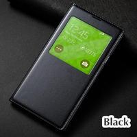 4 5 S5 Mini Chip Window View Flip Case Smart Cover For Samsung Galaxy S5 Mini