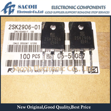 Free Shipping 10Pcs 2SK2906-01 2SK2906 2SK2904-01 2SK2904 TO-3P 100A 60V Power MOSFET Transistor cheap SHARCOH New original Power transistor RoHS Compliant Within 1Days EMS DHL FedEx UPS TNT