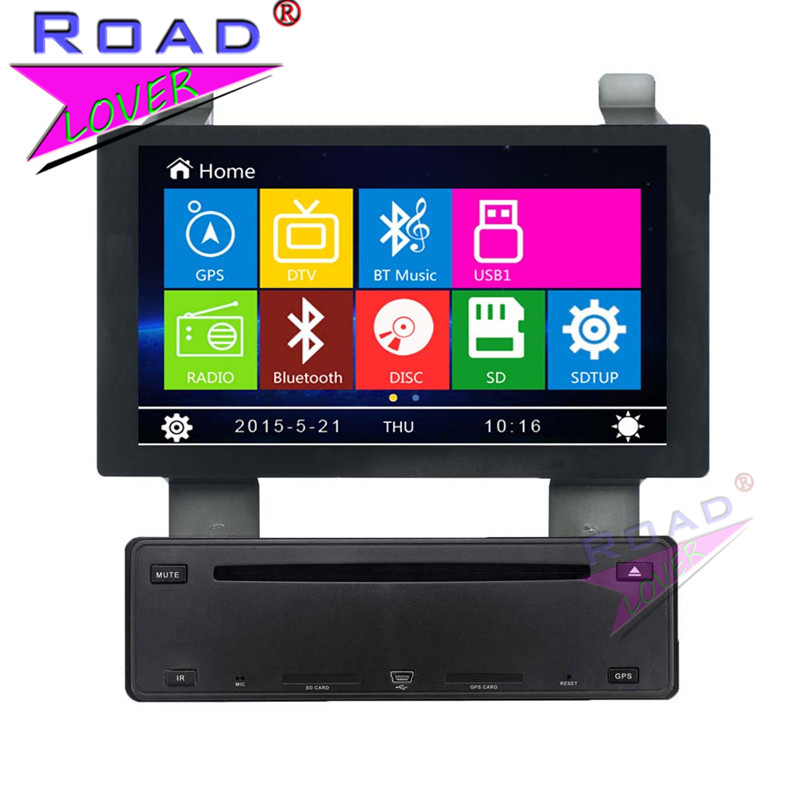 TOPNAVI Wince 6.0 Two Din 7 Car Media Center DVD Player Radio For Nissan New Teana Stereo GPS Navigation TFT Touch HD Screen