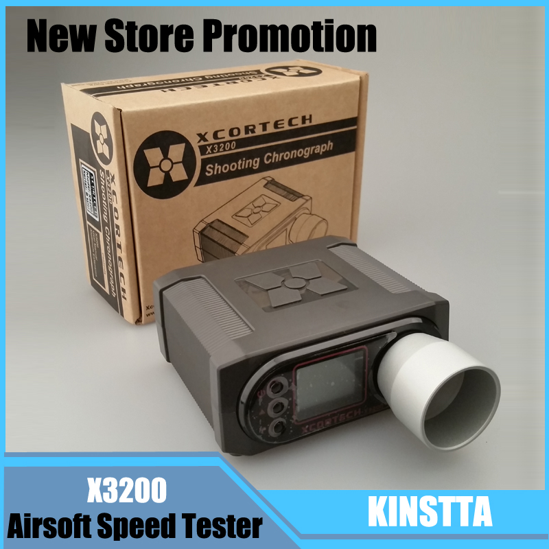 Top Quality X3200 High Power Speed Tester Airsoft BB Shooting Xcortech Chronograph For font b Hunting