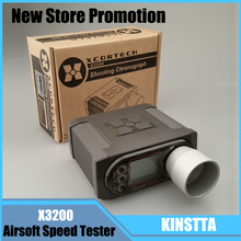 Top Quality X3200 High-Power Speed Tester Airsoft BB Shooting Xcortech Chronograph For Hunting