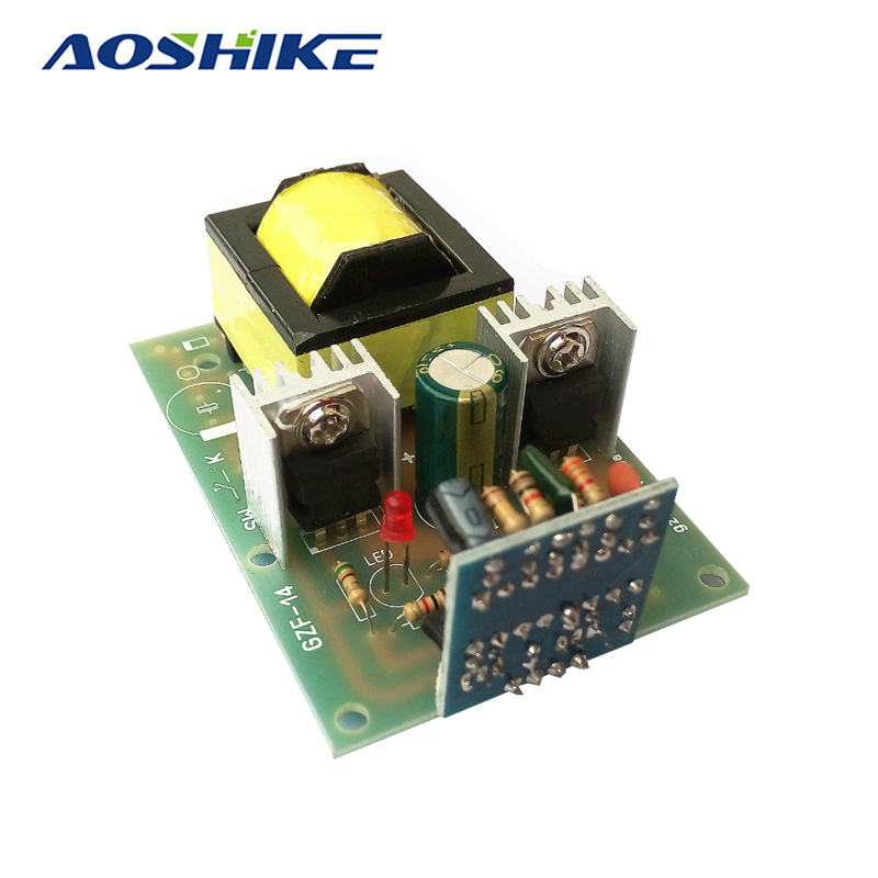 Aoshike 150W Simple TL494 Drive Inverter Booster Circuit Board  DC 12V To AC 220V For Students' Graduation Design DIY cxa p1212b wjl pcu p091b dc to ac converter high voltage circuit board