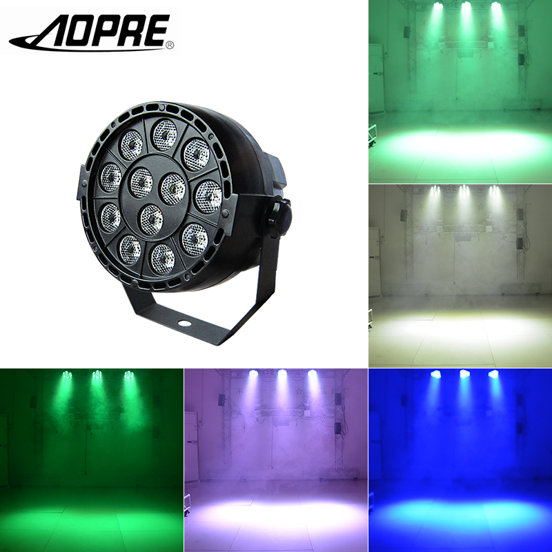 LED RGBW Par Light Mixing Color Disco Light Mini Stage Lighting Effect with DMX 512 for DJ Club Party Bar Lights P-L12 dj portable 86 rgb led stage lights par party show dmx 512 lighting effect disco spotlight projector for wedding party bar club