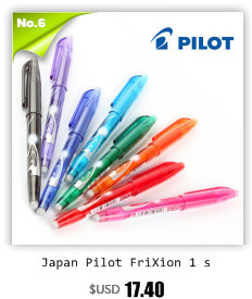 Caneta japão frixion 6 cores definir kawaii