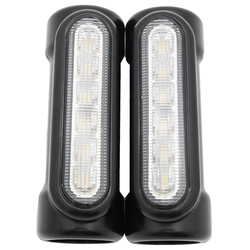 Motocykl Led autostrady Bar Switchback światło do jazdy/Turn Signal światło do motocykla Harley|Zderzaki|Samochody i motocykle -
