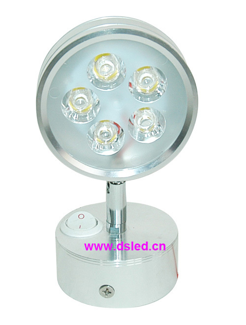 Free shipping by DHL !! good quality 5W LED bed light,LED spotlight, DS-06-55-5W,110-250VAC,2-Year warranty,EDISON chip. used good condition vx4a66105 with free dhl