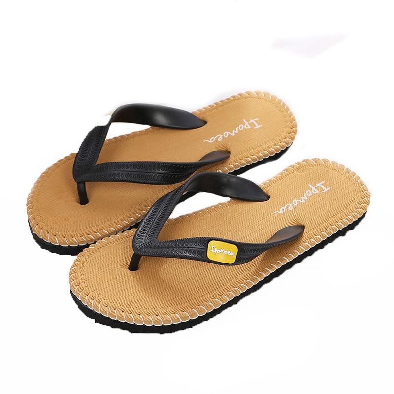 2017 New flip flops Men Casual Summer Shoes slippers Sandals Male Beach Slipper Indoor Outdoor Flip Flops zapatillas hombre new 1pair summer soft casual men flat wedge sandals thong flip flops massage slipper beach