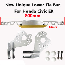цена на RASTP-New Unique Rear Lower Tie Bar  With Lower Control Arm for Honda Civic RSX DC5 EP3 EM2 ES1  RS-LTB004