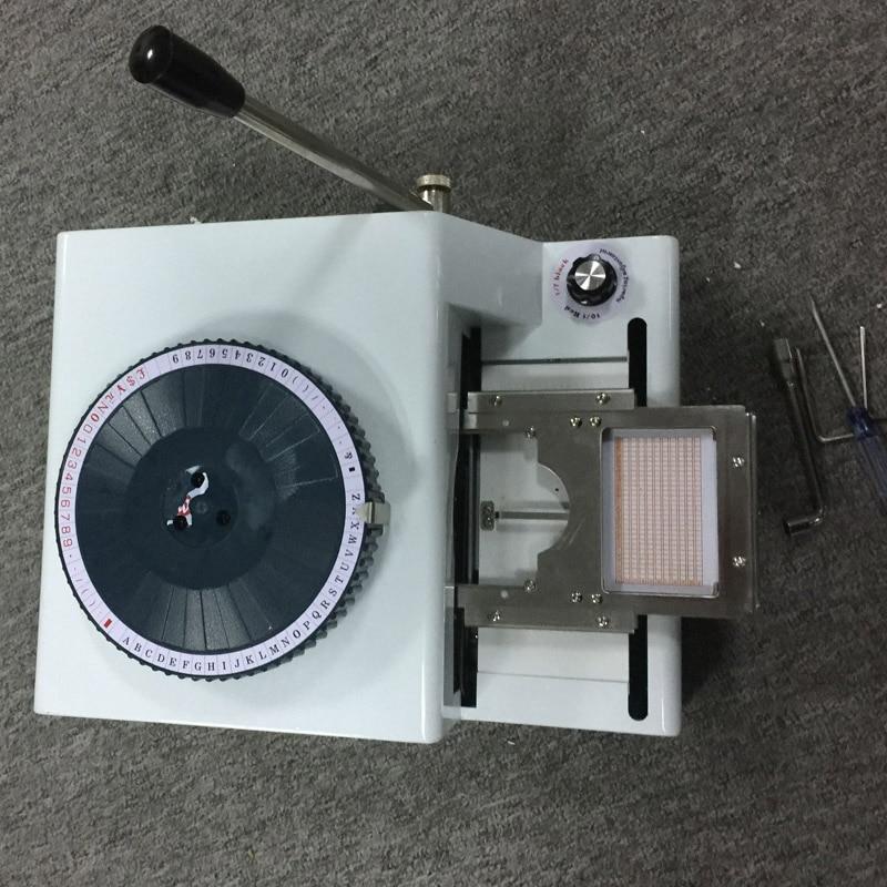 vip 카드 양각 기계 판매 가격 pvc 프린터 - 사무용 전자 제품 - 사진 5