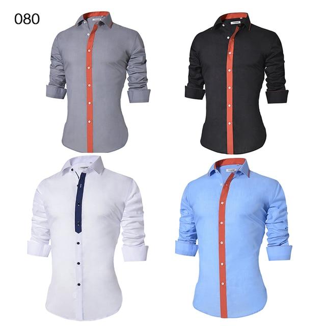 Men's Casual Slim Fit Dress Shirt 3