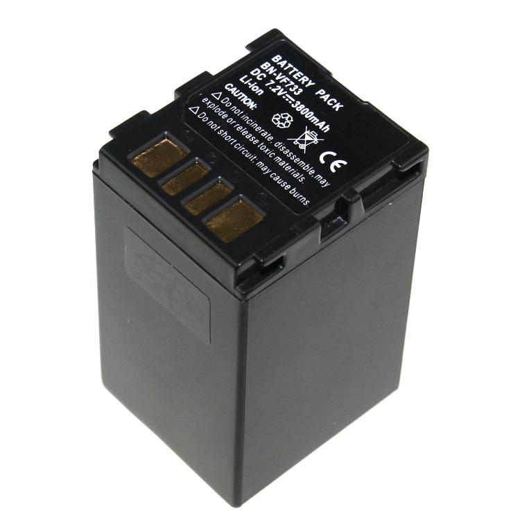 7 2V BN VF733 BNVF733 BN F733 Replacement Li ion Battery kit For JVC BN VF733