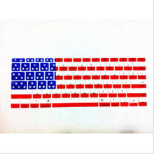 USA Flag Silicone Laptop keyboard Skin Protector Cover Protective Film Guard For Apple Macbook Mac retina