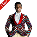 Mens African Clothing Men Blazer Suit Casual Cotton Slim Fit Brand Clothing Bazin Rich Dashiki Men Blazer Jacket WYN238