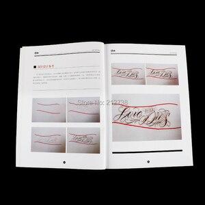 Image 3 - دفتر وشم على شكل خط عربي من تشيكانو مقاس A4 كتاب كتابة كتابة وتصميم قالب تصميم كتاب وشم فلاش (78 صفحة)