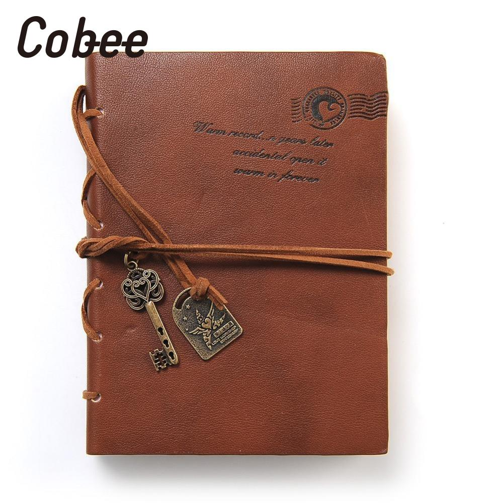 2018 Classic Vintage Notebook PU Leather Notebook Diary Memo Sketchbook Traveler Journal school calendar african leather memo