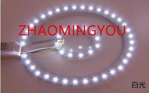 Image 2 - 6W 12W 15W 18W 24W 36W 80W 100W LED PANEL Circle Ring Light 220V SMD 5730 LED Round Ceiling  lamp for Dining room