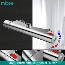 2017 Лидер продаж набор для душа Робине micoe душ для смесителя Ванная комната горячей и холодной латунь покрытием 150 мм Управление Клапан